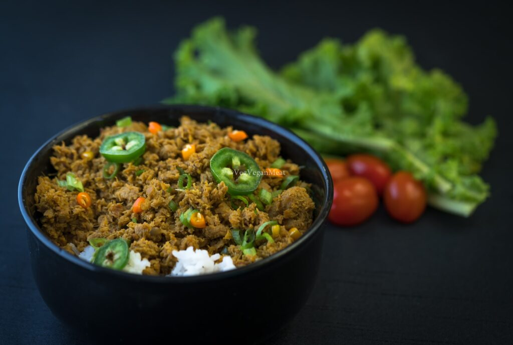 High Protein Vegan Minced Meat