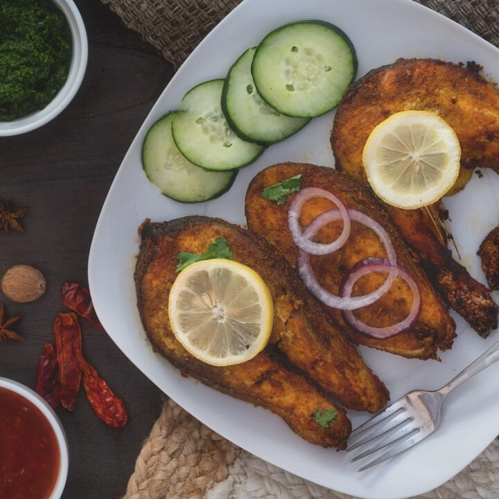 salmon fish tandoori