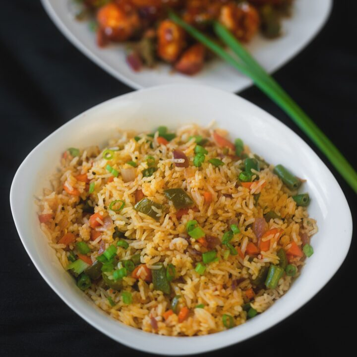 veggie fried rice south indian style
