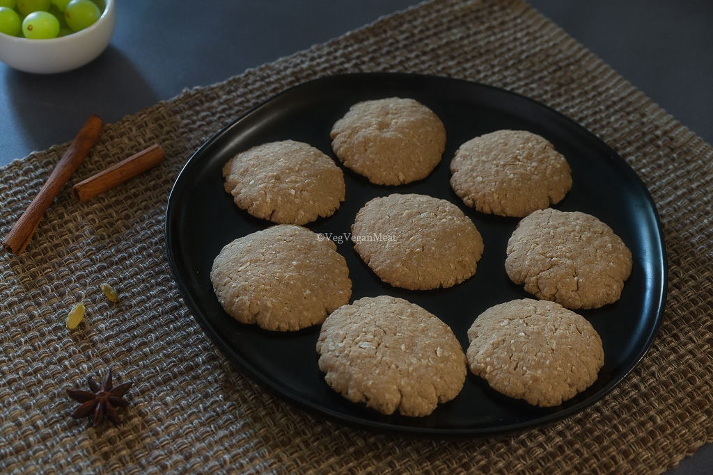 Final output of Wheat Coconut Cookies