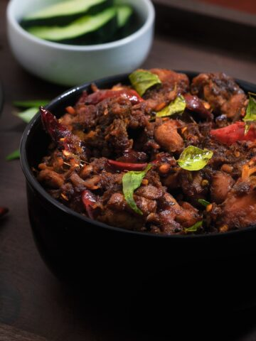Output of Chicken Chintamani Coimbatore/Erode Special dish