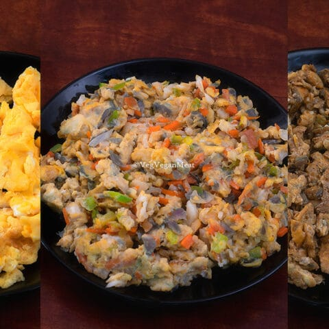 Three Types of Egg Scramble