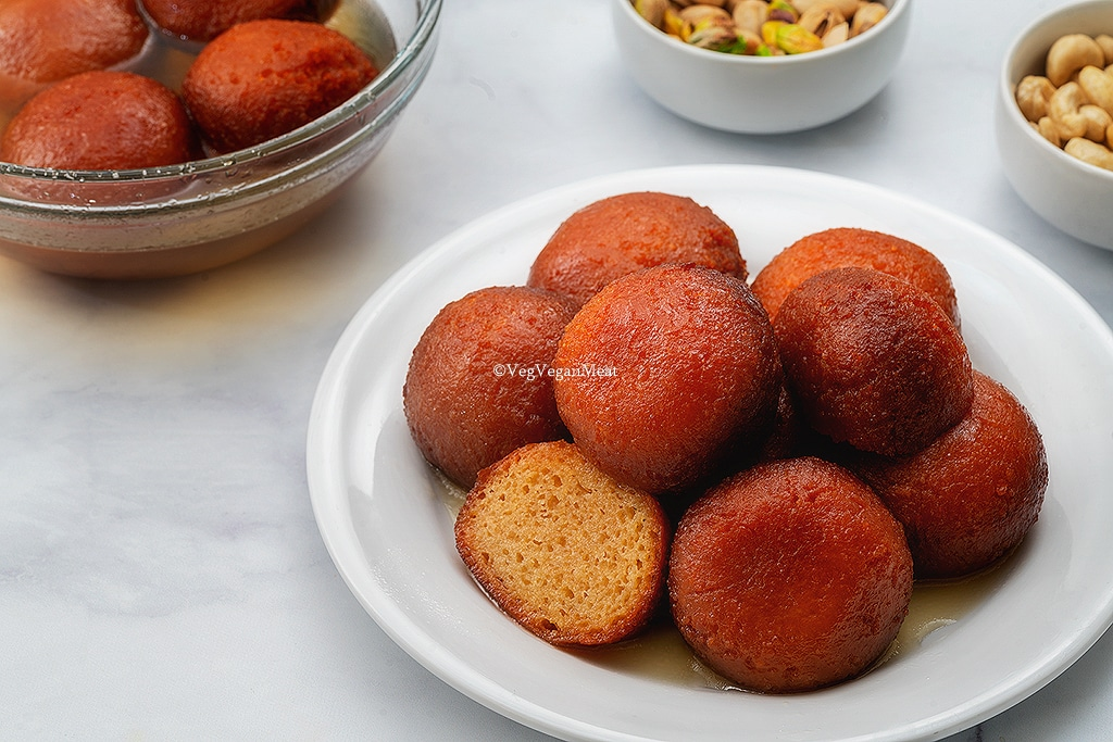 Final output of Soft and Juicy Gulab Jamun