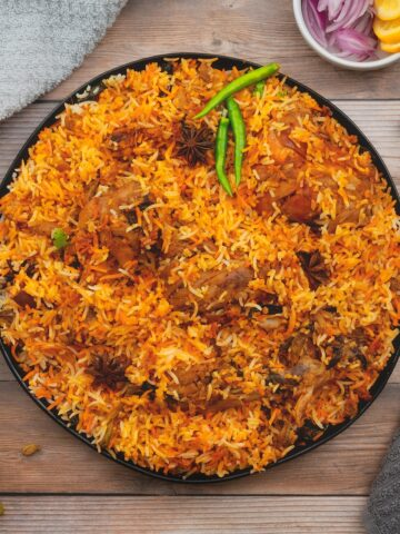 Mughlai chicken biryani - best biryani recipes