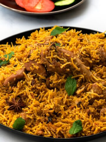 south indian chicken biryani