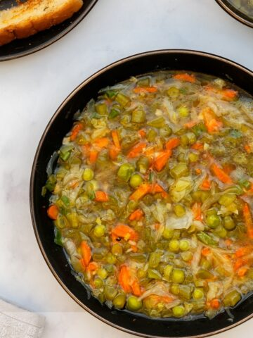 healthy and comforting vegetable soup