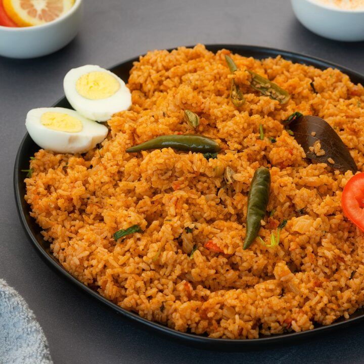output of kuska rice, plain biryani