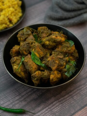 Bangalore Style Andhra Green Chilli Chicken