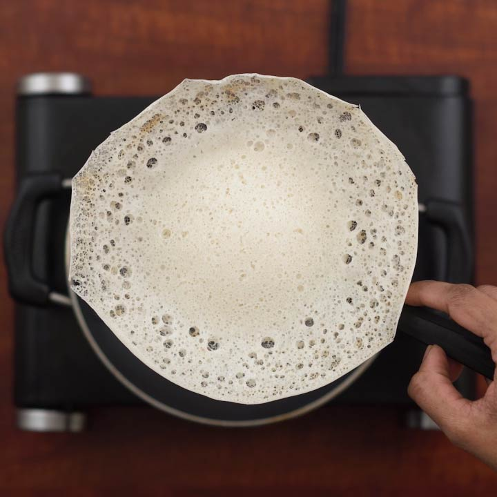 Perfect crispy instant appam/palappam