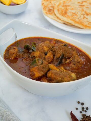 Authentic Chettinad Chicken Curry/Gravy