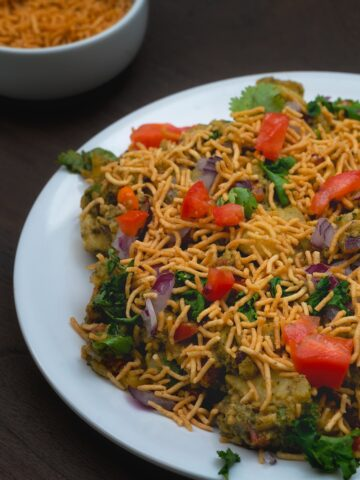 Delhi Style Chatpate Aloo Chaat