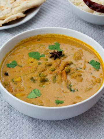 Indian Vegetable Kurma Restaurant Style