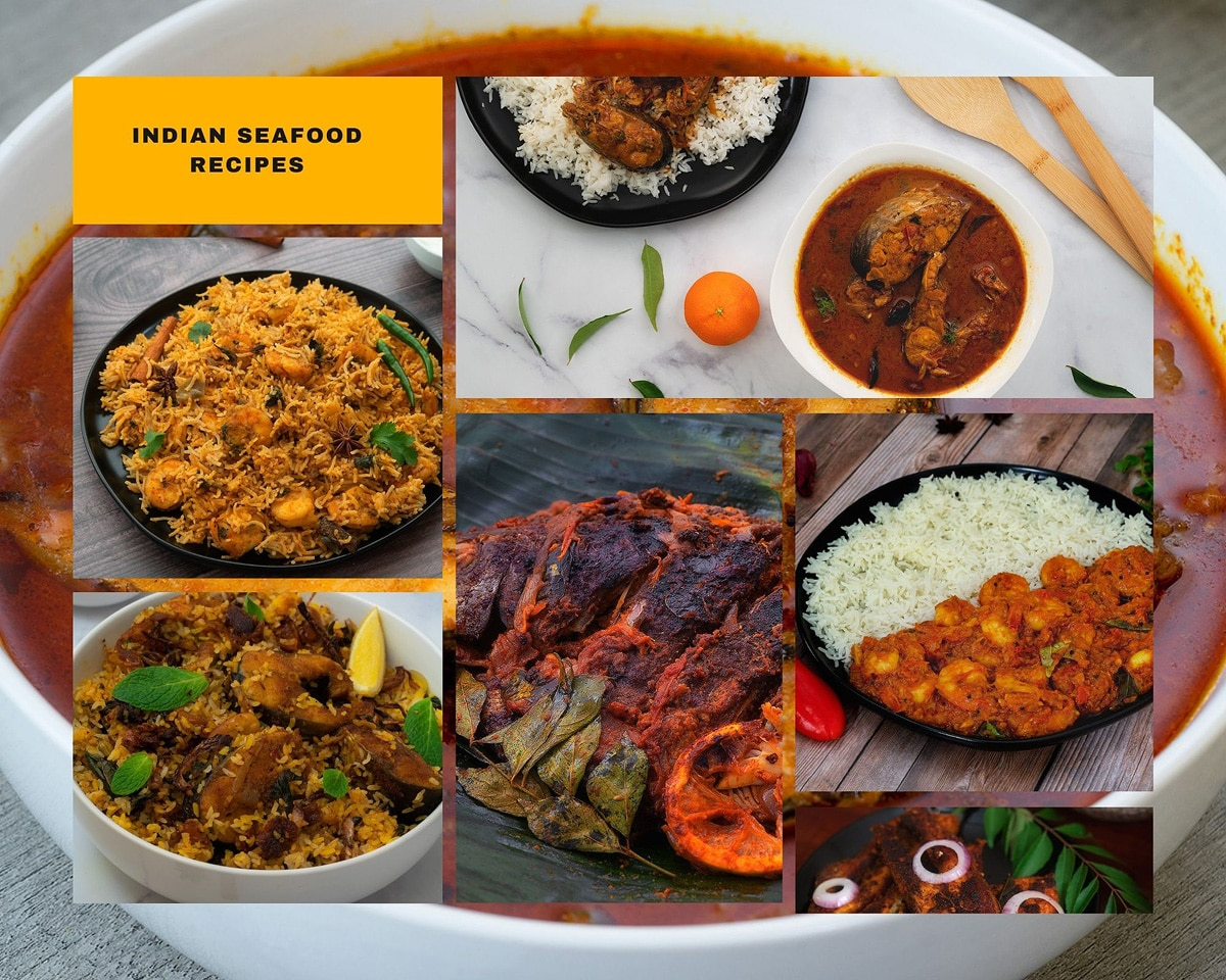 Indian Seafood Recipes, from Fish to Prawn