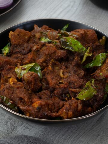 Authentic Chettinad Mutton Chukka Tamilnadu sytle
