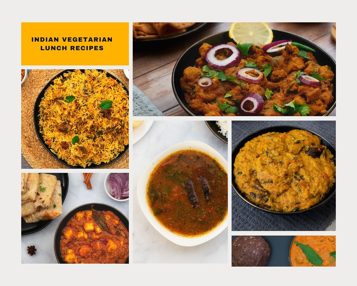 Indian Vegetarian Lunch Recipes
