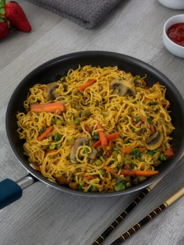 Instant Maggi Vegetable Masala Noodles