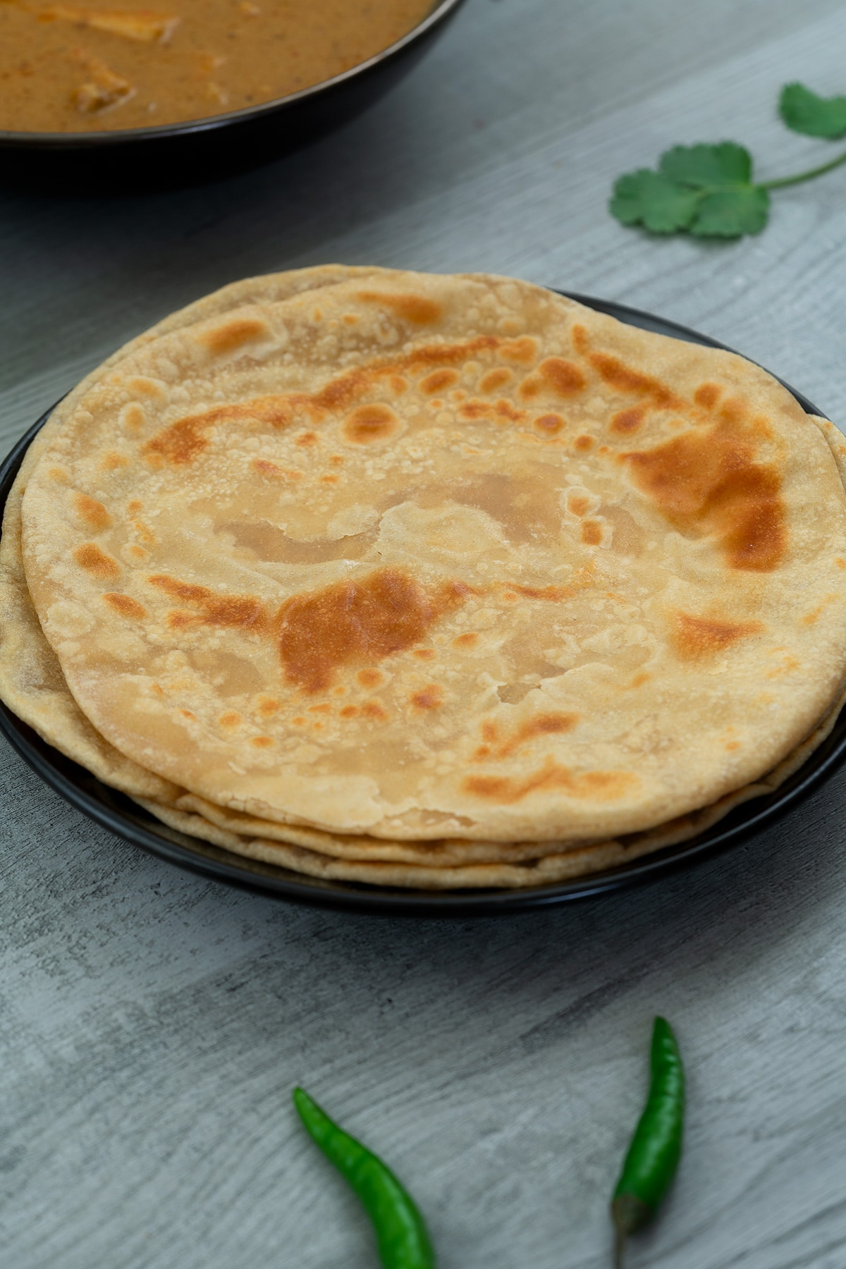 Indian Bread - Soft Roti / Chapati / Phulka