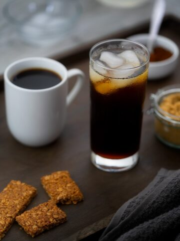Hot and Iced Black Coffee